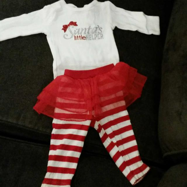 11ac8654b71b Find more 3 Month Carter s Santa s Little Helper Outfit for sale at ...