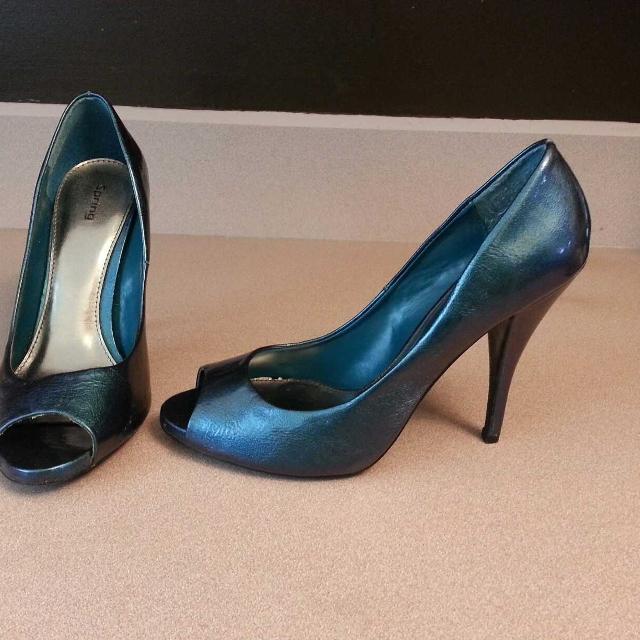 1bc67dc777 Best Peep Toe Teal Iridescent Heels for sale in Regina, Saskatchewan for  2019