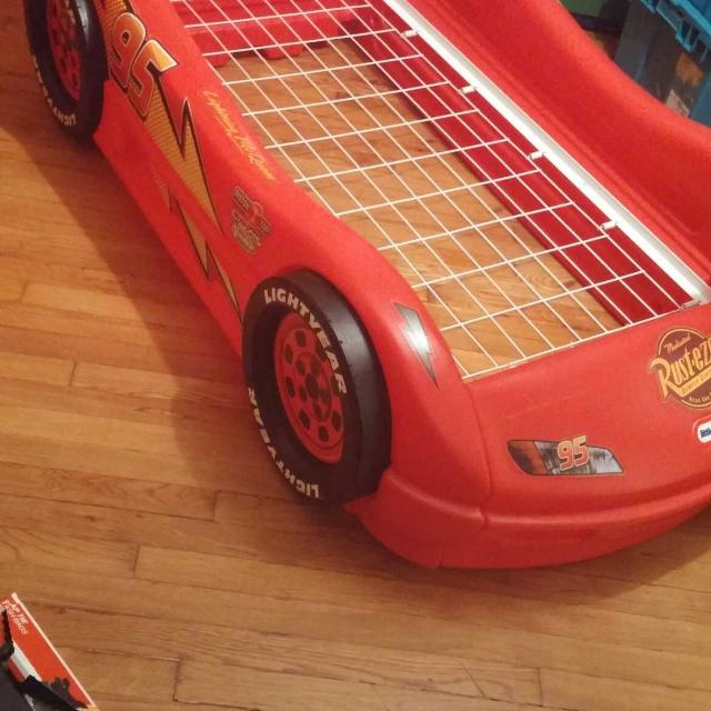 Lightning Mcqueen Toddler Bed Frame For