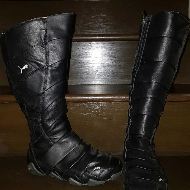 top-rated discount 60% discount clearance **Price Reduced**PUMA Knee High Boots