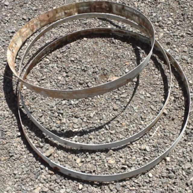 Find More Set Of 3 Used Wine Barrel Rings Great Craft Project