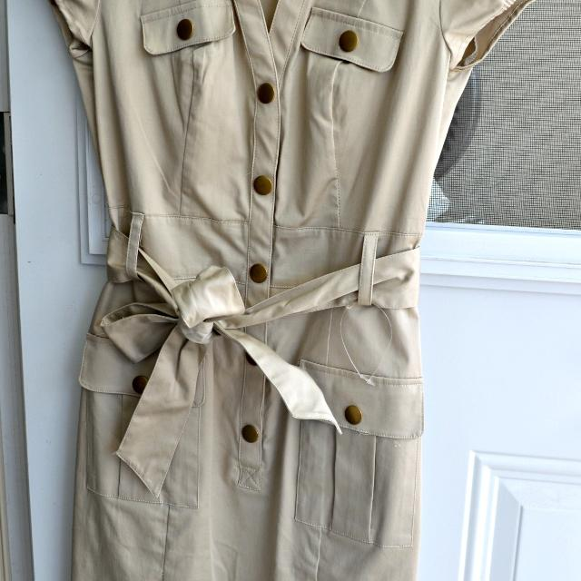 42339eafae Find more H m Military Style Shirt Dress - Size 2