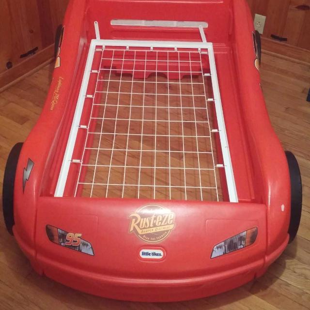 Little Tykes Lightning McQueen Toddler Bed Frame