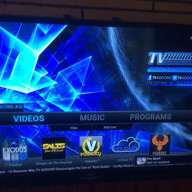 Android tv box with kodi Jarvis 16 1 and updated showbox