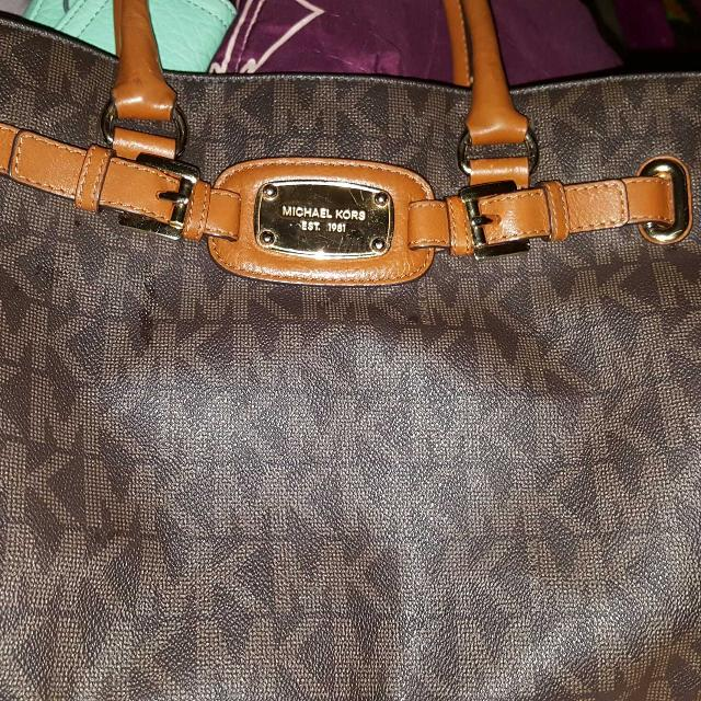 a402b23d4484d3 Best Michael Kors Hamilton Purse (pick Up Deerpark) for sale in Friendswood,  Texas for 2019