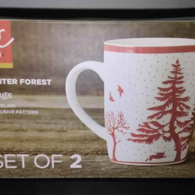 ffe295ae26f Find more ***price Drop*** Pc Set Of Coffee Mugs Winter Forest ...