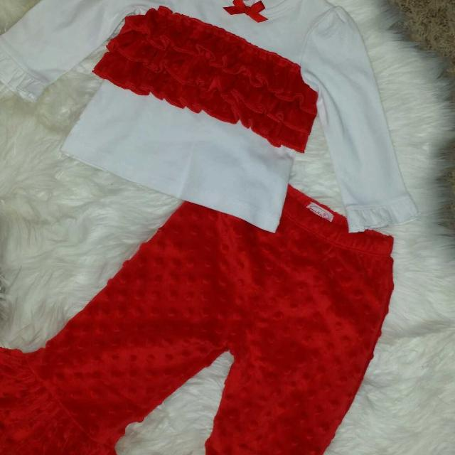 mud pie christmas outfit size 12 18 months final reduction - Mud Pie Christmas Outfit