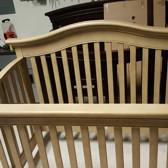 Best Baby Cache Montana 4 1 Crib In Driftwood For Sale In Cypress