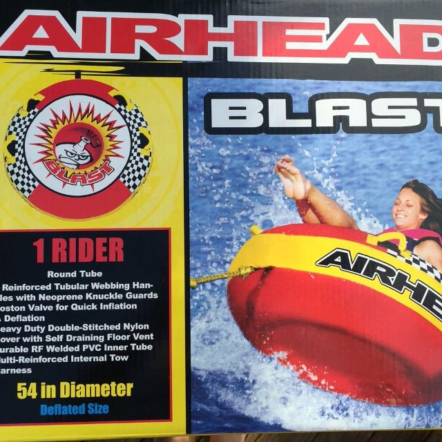 find more 2 airhead blast round tubes price drop for sale at up to