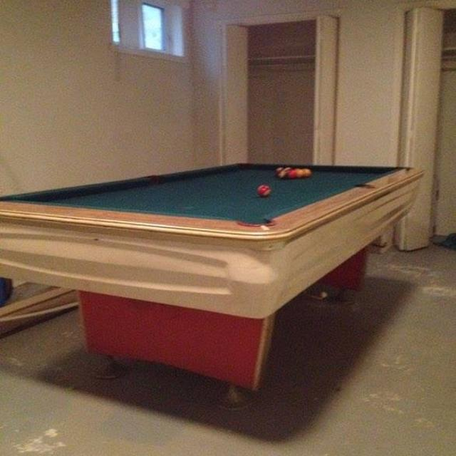 Find More Pool Table Table De Billard Retro For Sale At Up To - Retro pool table