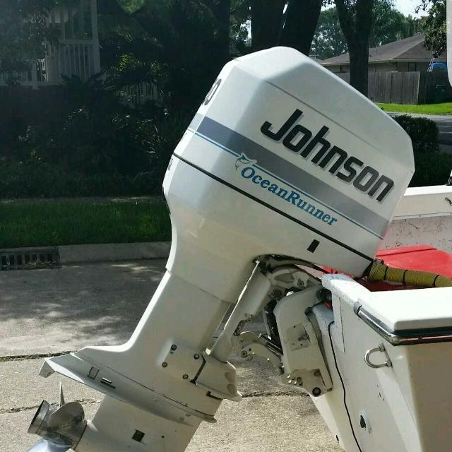 Best 225 johnson boat motor for sale in metairie for Outboard motors for sale in louisiana