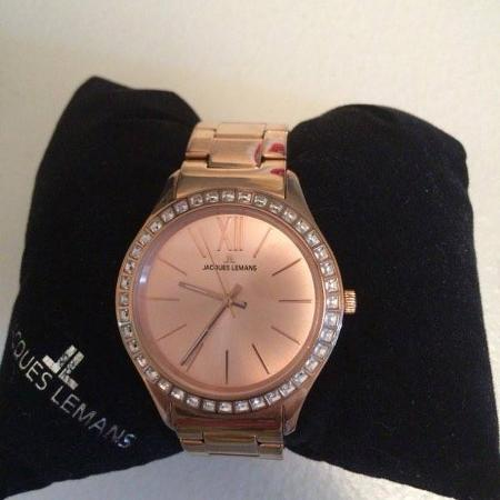 Jacques Lemans rose coloured watch for sale  Canada