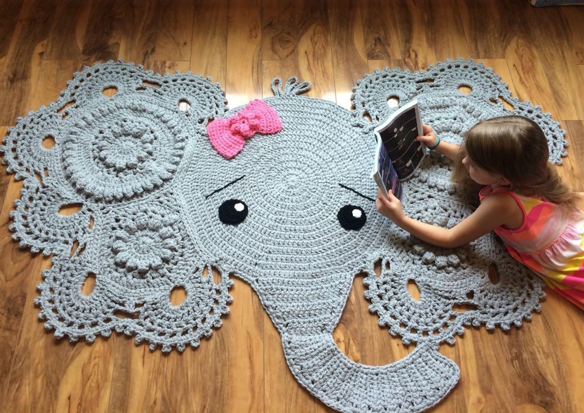 Crochet Elephant Rug - Album on Imgur | 804x1136