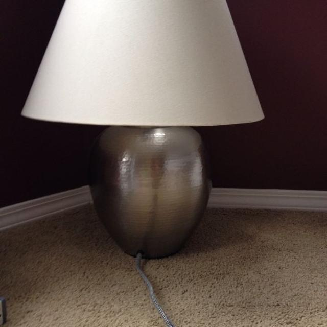 Find More Ikea Asele Lamps With Shades. $20 Each. Hammered