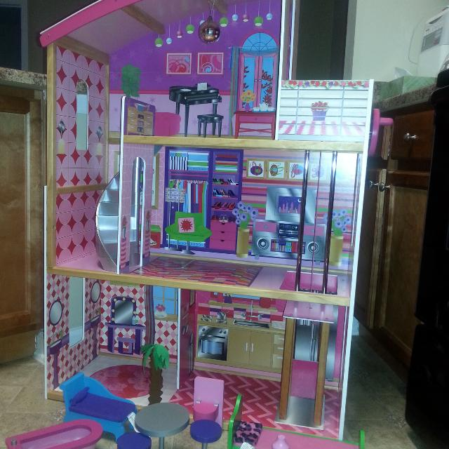 best kidkraft dollhouse from toys r us with furniture for sale in
