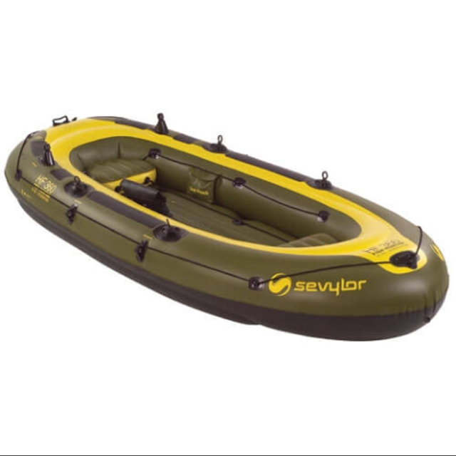 Sevylor Fishhunter 12 foot, 6 man inflatable boat