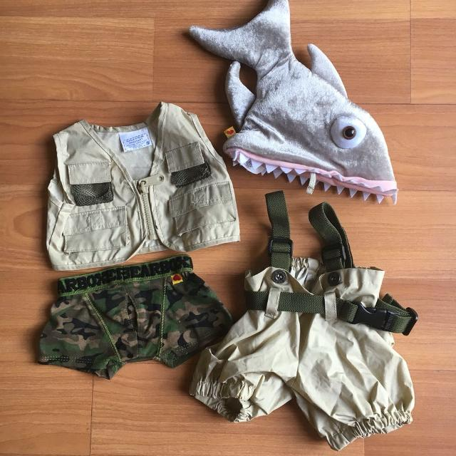 bf2628bbafc Find more Lot Of Build A Bear Clothes And Shark Hat for sale at up ...