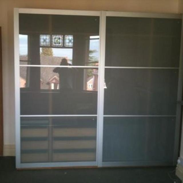 Find More Ikea Lyngdal Sliding Glass Closet Doors For Sale At Up To