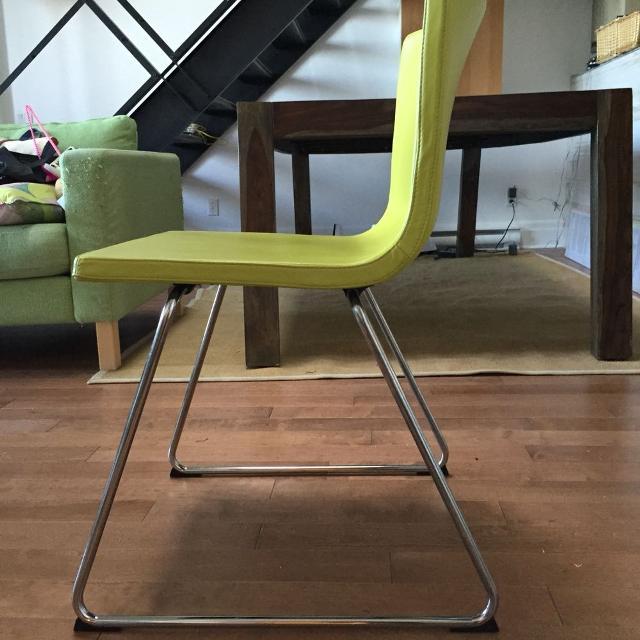 Best 4x Ikea Bernhard Chairs Pistachio Green For In Côte Saint Luc Quebec 2019