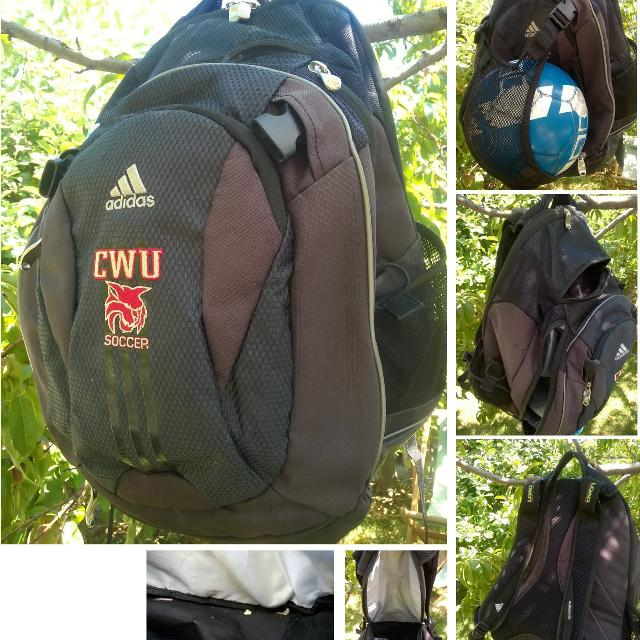 a4a23bdc3c0a Best Adidas Load Spring Soccer   Volleyball Backpack for sale