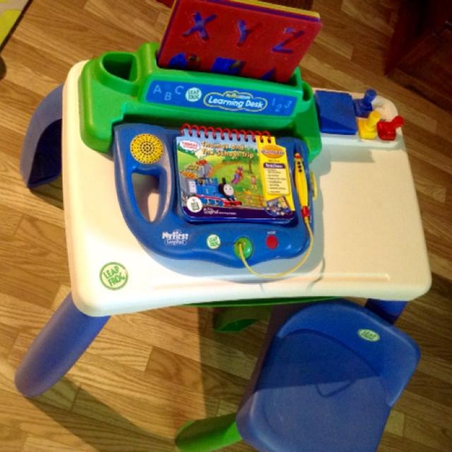 My First Leap Pad Learning Desk By Leapfrog Perfect Way To Get Ready For School