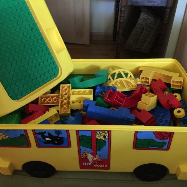 Find more Reduced Vintage Rare Lego/duplo Bus Baseplate/table ...