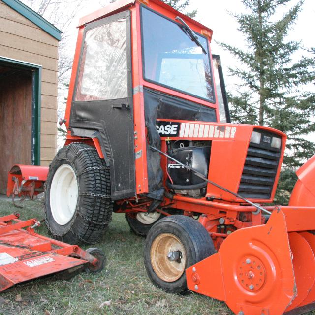 Find more case 446 garden tractor for sale at up to 90 for Garden machinery for sale
