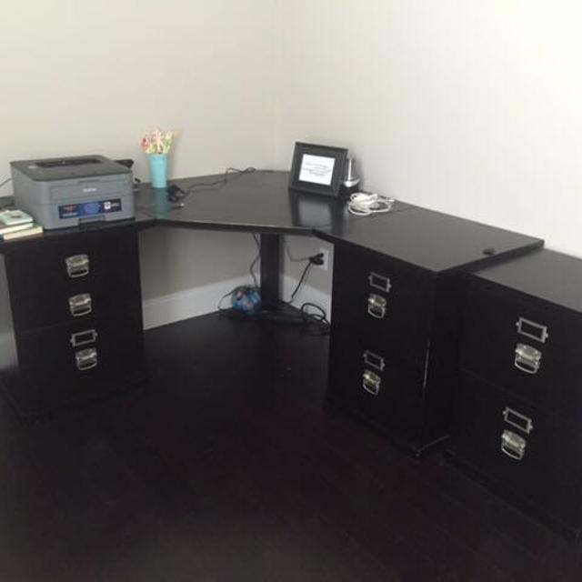 Potterybarn Bedford Modular Desk Set