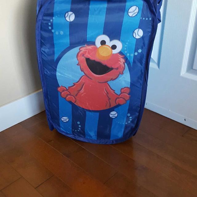 Elmo Laundry Hamper Or Toy Storage