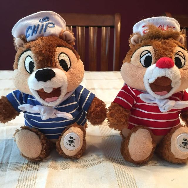 Find More Reduced Disney Cruise Line Chip And Dale Plush For - Toy disney cruise ship