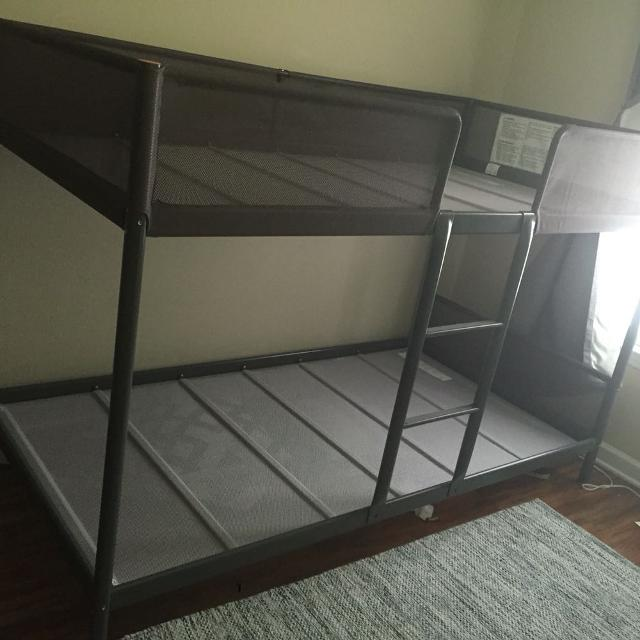 ikea tuffing bunk bed instructions