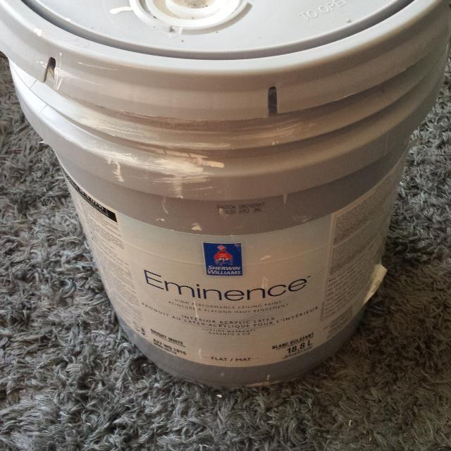Sherwin Williams Eminence High Performing Ceiling Paint