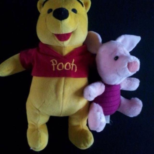 9098cd615761 Best Vintage Winnie The Pooh And Piglet Plush Dolls for sale in Naperville