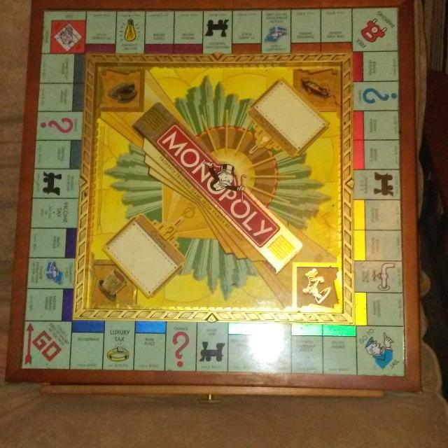 The 70th Anniversary Of Monopoly Board Game