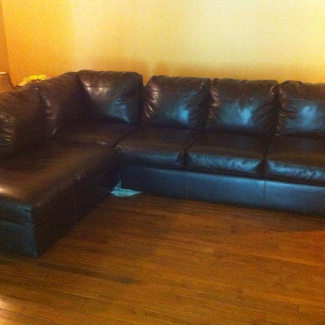 Best Brown Leather Ashley S Furniture Sectional Sofa For Sale In