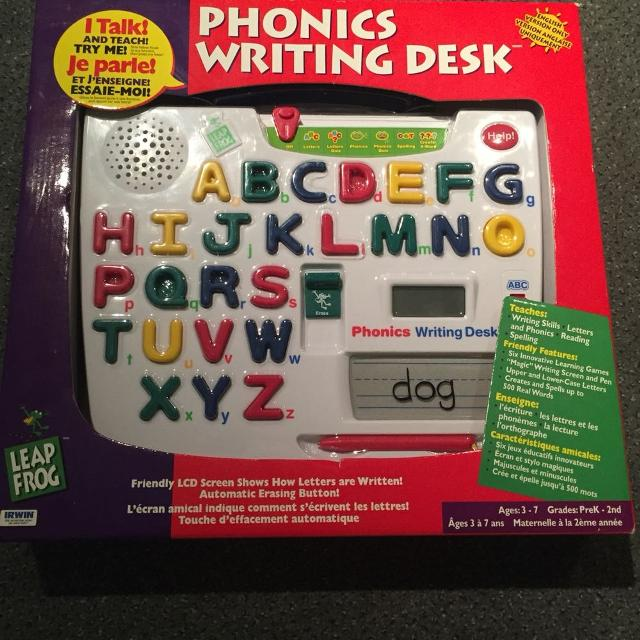 Leap Frog Phonics Writing Desk