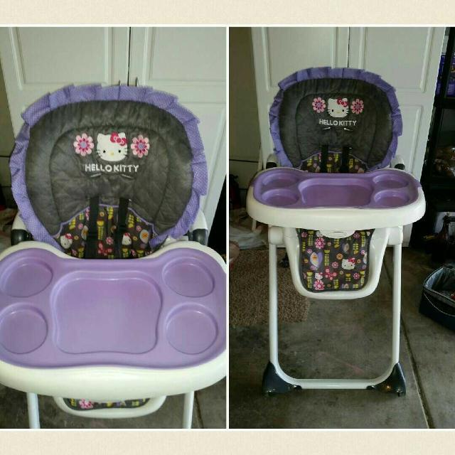 Baby Trend Hello Kitty High Chair
