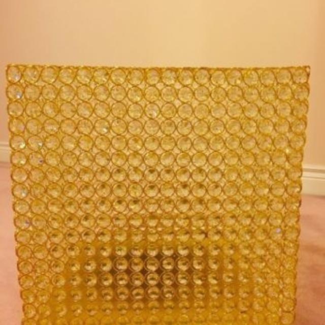 best gold wedding rhinestone crystal money card box for rent for