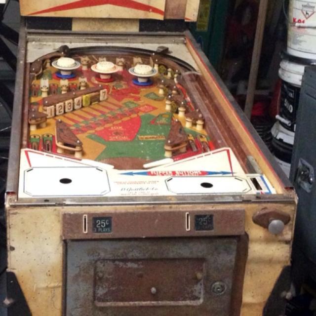 Vintage Gotlieb's pinball machine for refurbish or parts