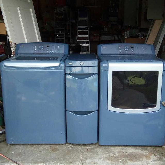 He Kenmore Elite Oasis Washer Dryer And Laundry Drawers