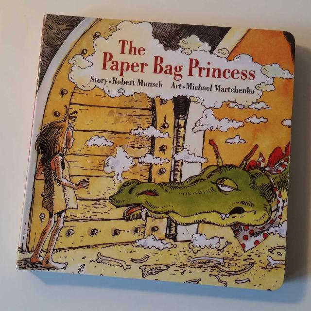 Paper Bag Princess Book Cover ~ Find more the paper bag princess by robert munsch