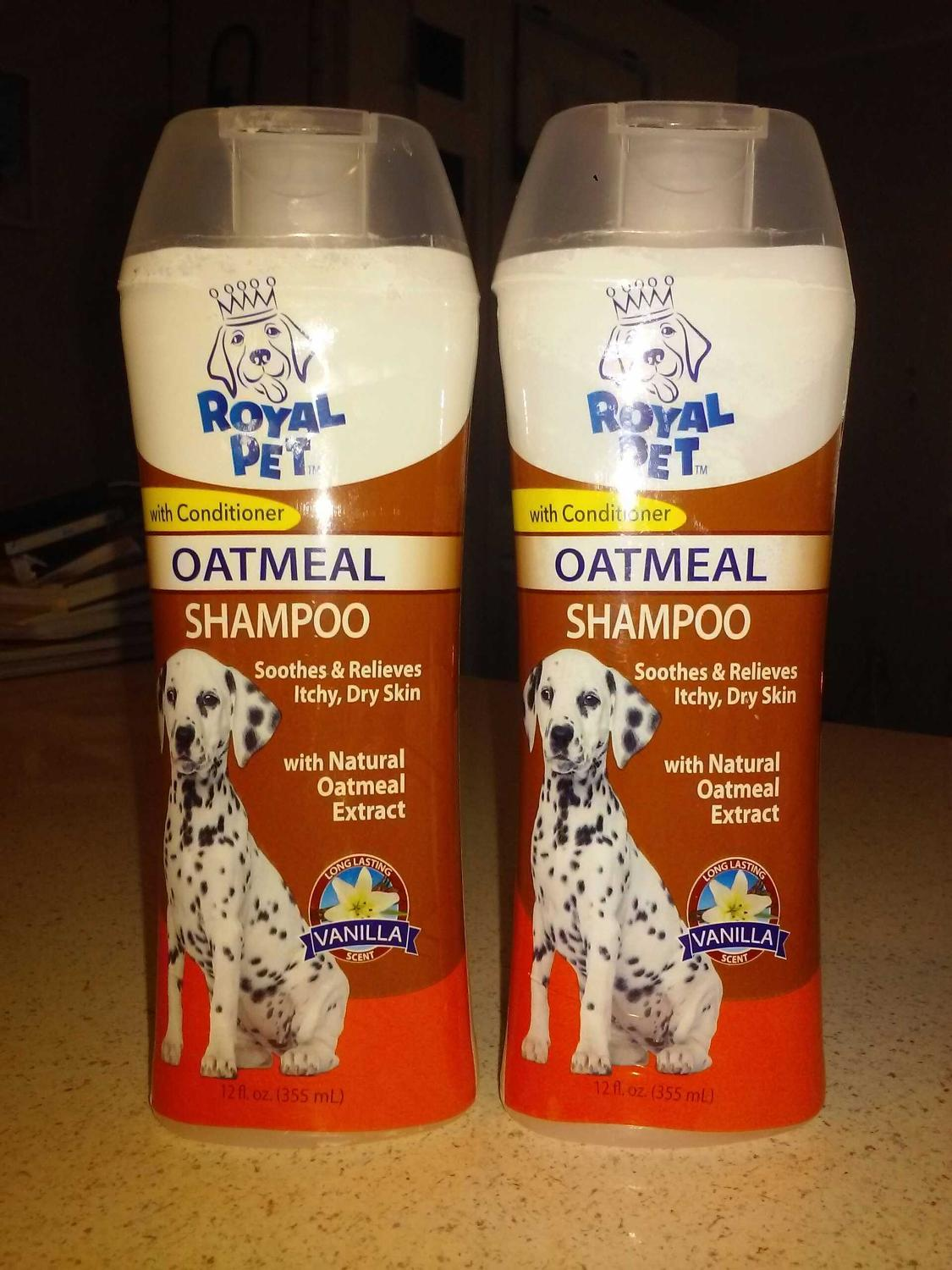 Dogs Natural Oatmeal Extract Shampoo with Conditioner -Vanilla Scent (BRAND  NEW) $3 EACH