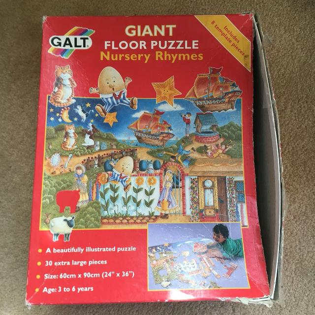 Find More Giant Floor Puzzle By Galt