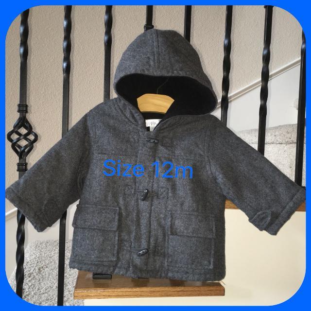 5702e090d Best Boy s Children s Place Toggle Jacket   Coat - Size 12m for sale ...