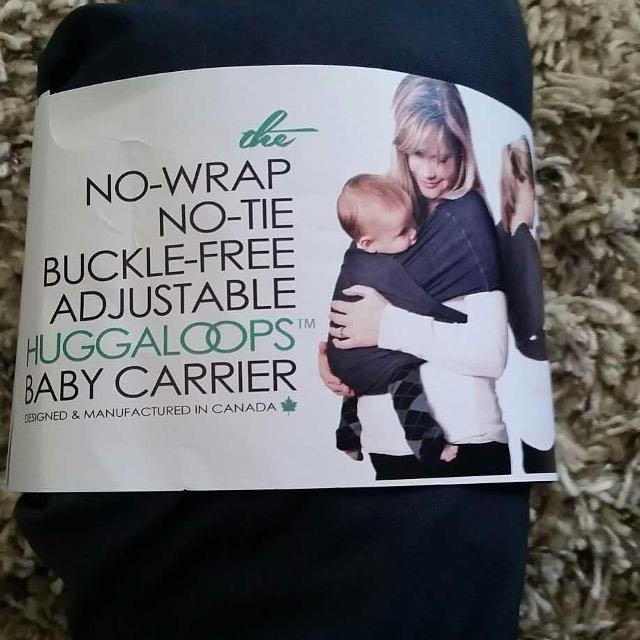 88cc1726c08 Find more Huggaloops Baby Carrier - Brand New! for sale at up to 90% off