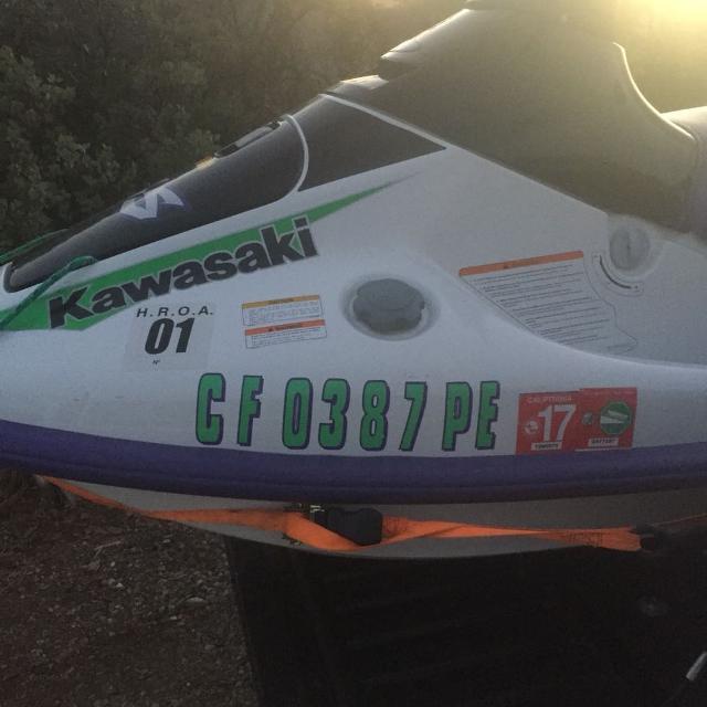 1997 Kawasaki Jetski need to sell ASAP