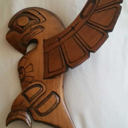Haida  eagle carving for sale  Canada