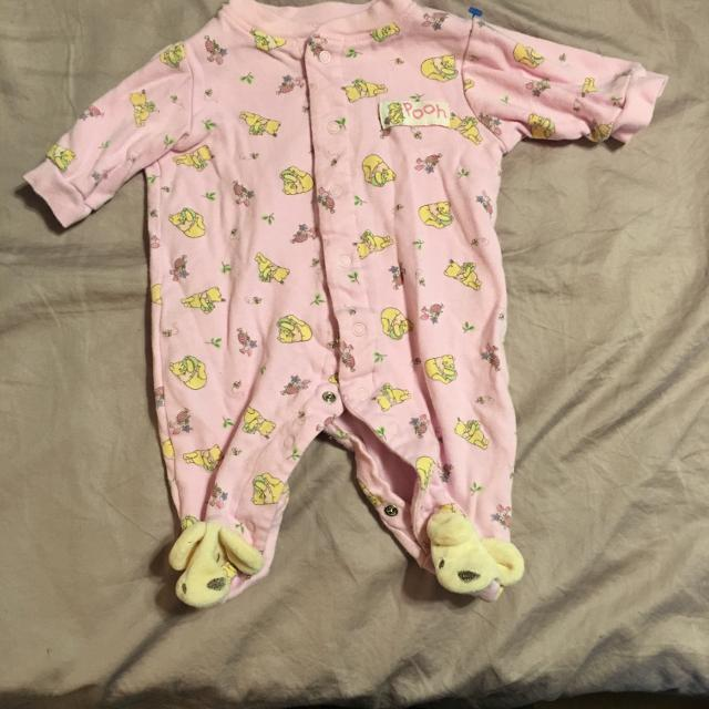 d85989706638 Best Final Price Drop  1 - Baby Girl Winnie The Pooh Light Pink Sleeper -  Gently Worn for sale in Peoria