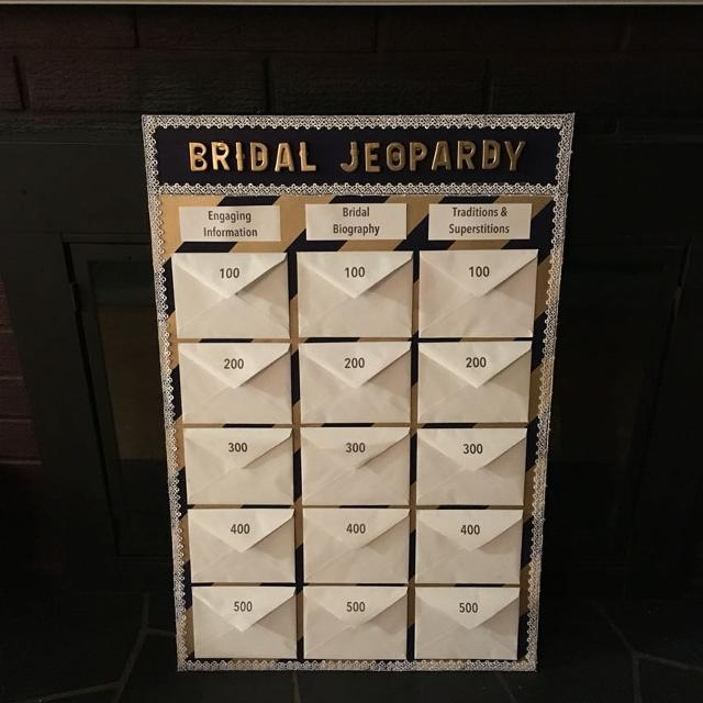 Find More Bridal Jeopardy Game For Sale At Up To 90 Off