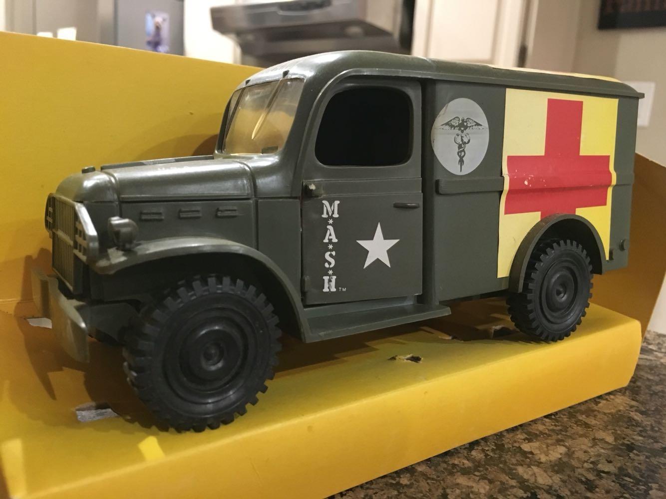 Vintage 4077th MASH Jeep Ambulance